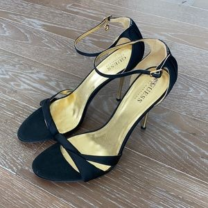 NEW! Guess Satin Evening Sandal   9
